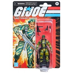 Figura  Lonzo Stalker Wilkinson G.I. Joe Retro Collection Series 2021 Wave 2