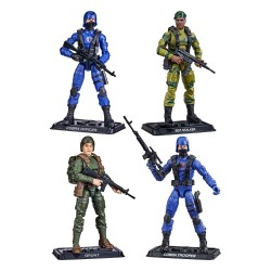 Pack 4 Figuras G.I. Joe Retro Collection Series 2021 Wave 3