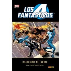 Los 4 Fantásticos. Los Mejores del Mundo (Marvel Deluxe)
