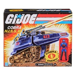 Vehículo Cobra HISS III Con Figura G.I. Joe Retro Collection Series