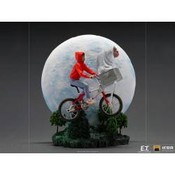 Estatua Deluxe E.T. y Elliot Escala 1:10 Iron Studios
