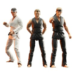 Set 3 Figuras Cobra Kai Deluxe Action Figure Diamond Direct