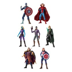 Pack  7 Figuras What If? Marvel Legends Hasbro Wave 1