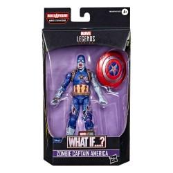 Figura Zombie Captain America What If? Marvel Legends Hasbro