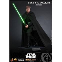 Figura Luke Skywalker The Mandalorian Deluxe Star Wars Hot Toys