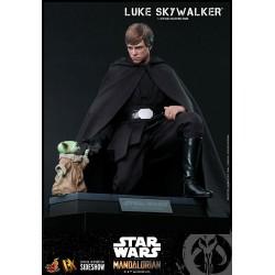 Figura Luke Skywalker The Mandalorian Star Wars Hot Toys