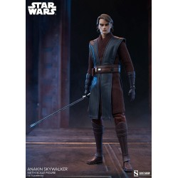 Figura Anakin Skywalker Star Wars The Clone Wars escala 1/6 Sideshow