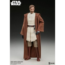 Figura Obi-Wan Kenobi Star Wars The Clone Wars Escala 1/6 Sideshow