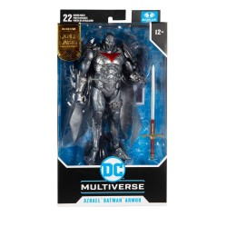 Imagén: Figura Azrael Batman Armor Batman Curse Of The White Knight Gold Label DC Multiverse McFarlane Toys