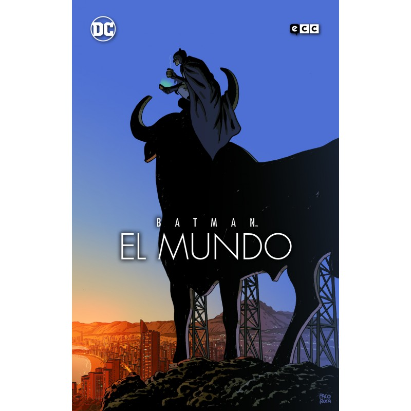 Batman: El Mundo. Portada De Paco Roca
