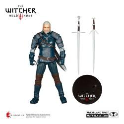 Figura Geralt De Rivia Viper Armor Teal Dye The Witcher III McFarlane Toys