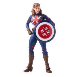 Figura Captain Carter What If? Marvel Legends Hasbro
