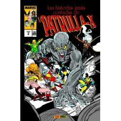 Las Historias Jamás Contadas de la Patrulla-X 2 (Marvel Gold)