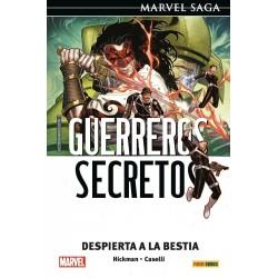 Marvel Saga. Guerreros Secretos 3 Despierta a la bestia