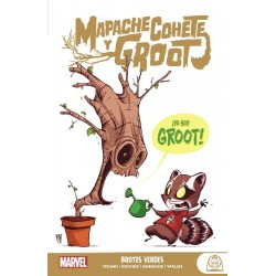 Marvel Young Adults. Mapache Cohete y Groot 1 Brotes verdes