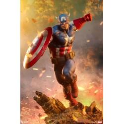 Estatua Capitán America Escala 1/4 Sideshow