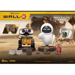 Pack 2 Figuras Wall-E y Eve 2 Beast Kingdom