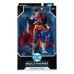Figura Superboy Prime Infinity Crisis Multiverse McFarlane Toys