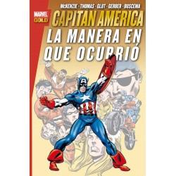 Capitán América. La Manera en que Ocurrió (Marvel Gold)