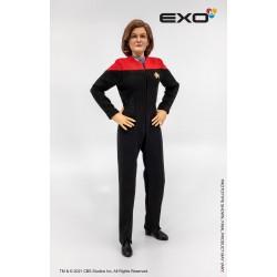 Figura Capitana Kathryn Janeway Star Trek Primer Contacto Escala 1:6