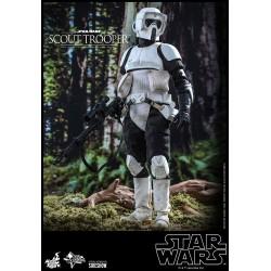 Figura Scout Trooper Star Wars El Retorno del Jedi Hot Toys