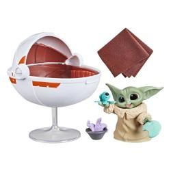 Figura The Child Baby Yoda Grogu Con Cuna Flotante Star Wars The Bounty Collection