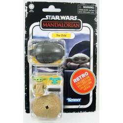 Figura The Child Baby Yoda Grogu The Mandalorian Star Wars Retro Collection Hasbro