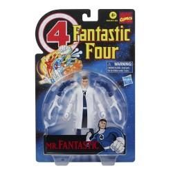 Figura Mr. Fantástico Los 4 Fantásticos Marvel Legends Hasbro