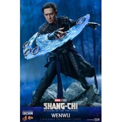 Figura Wenwu Shang Chi y la leyenda de los Diez Anillos Hot Toys Escala 1/6