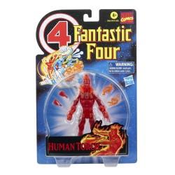 Figura Antorcha Humana En llamas Los 4 Fantásticos Marvel Legends Hasbro