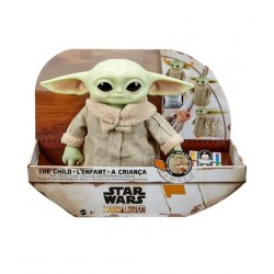 Peluche The Child Baby Yoda Grogu con Control Remoto The Mandalorian Star Wars
