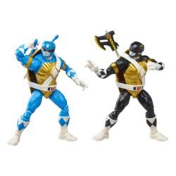Pack 2 Figuras Power Rangers x TMNT Lightning Collection Figuras 2022 Morphed Donatello & Morphed Leonardo Hasbro
