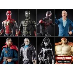 Pack 7 Figuras Spider-Man Marvel Legends Wave 13 (Marvel's Armadillo BAF) Hasbro