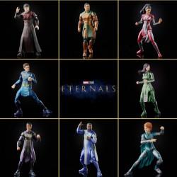 Pack 7 Figuras Eternals Marvel Legends Wave Completa