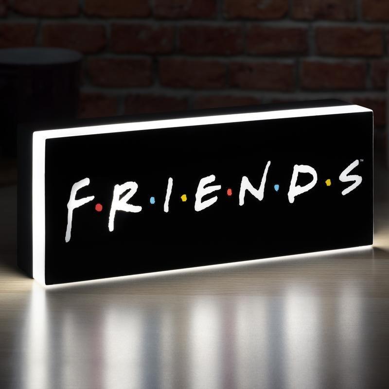 Cartel Luminoso Friends Logo Lámpara