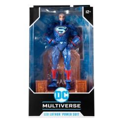 Figura Lex Luthor Power Suit La Guerra De Darkseid DC Multiverse McFarlane Toys