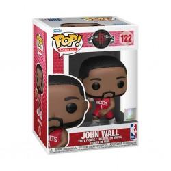Figura John Wall Red Jersey Rockets Pop NBA Funko 122