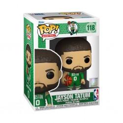 Figura Jayson Tatum Green Jersey Celtics Pop NBA Funko 118