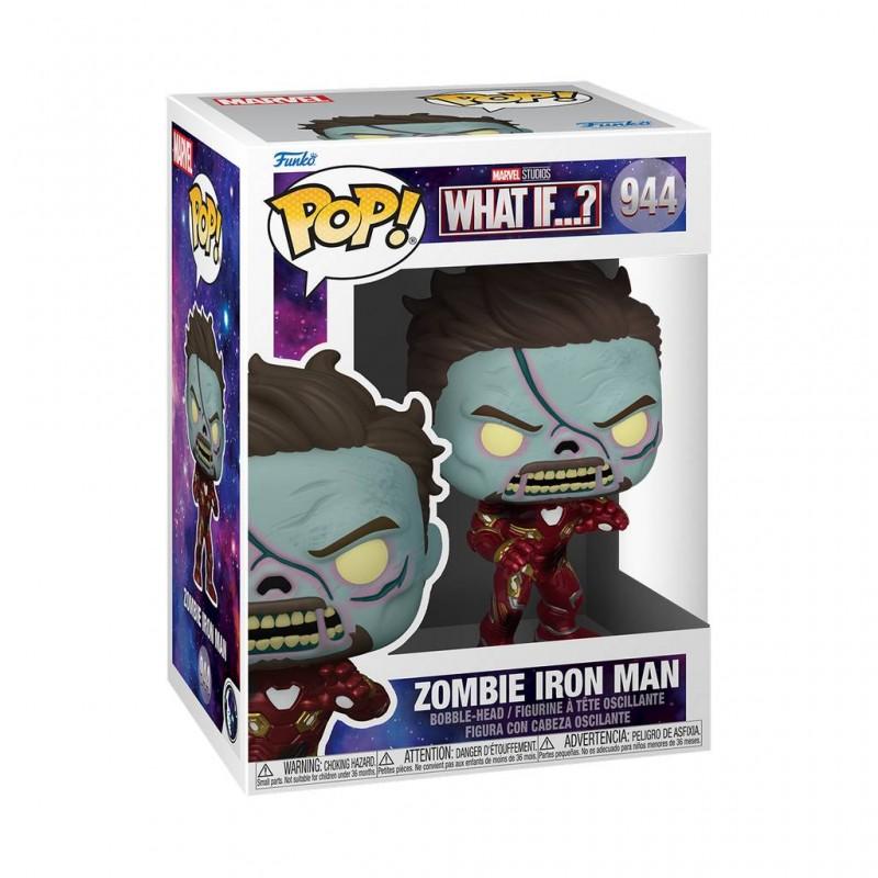 Figura Zombie Iron Man What If Pop Marvel Funko 944