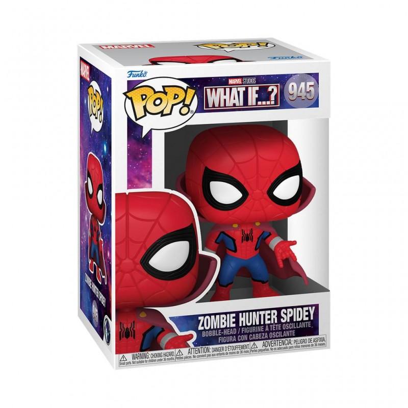 Figura Zombie Hunter Spiderman What If Pop Marvel Funko 945