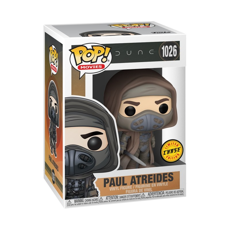 Figura Paul Atreides Chase Dune Pop Movies Funko 1026