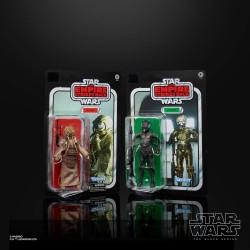Pack De 2 Figuras Bounty Hunters 40th Anniversary Edition Star Wars Episodio V Black Series Hasbro