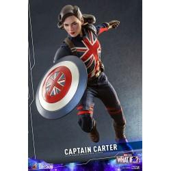 Figura Captain Carter What If Hot Toys Escala 1/6