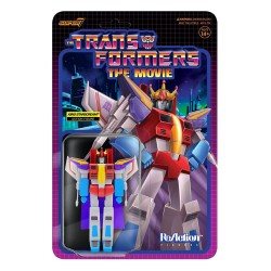 Figura King Starscream  Transformers ReAction Wave 4 Super7
