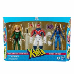 Pack Meggan, Capitán Britania y Gata Sombra X-Men Marvel Legends