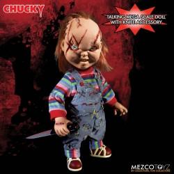 Figura La Novia de Chucky Muñeco Diabólico 38 cm Mega Scale Talking Mezco