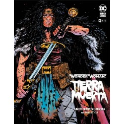 Wonder Woman. Tierra Muerta DC Black Label