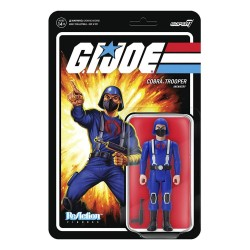 Figura Cobra Trooper Y-Back Pink G.I. Joe ReAction Super7