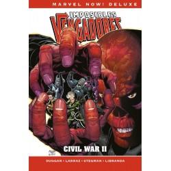 Imposibles Vengadores 5 Civil War II (Marvel Now! Deluxe)