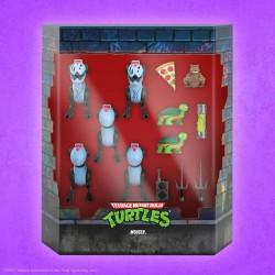 Pack 5 Figuras Tortugas Ninja Ultimates Mousers Super7